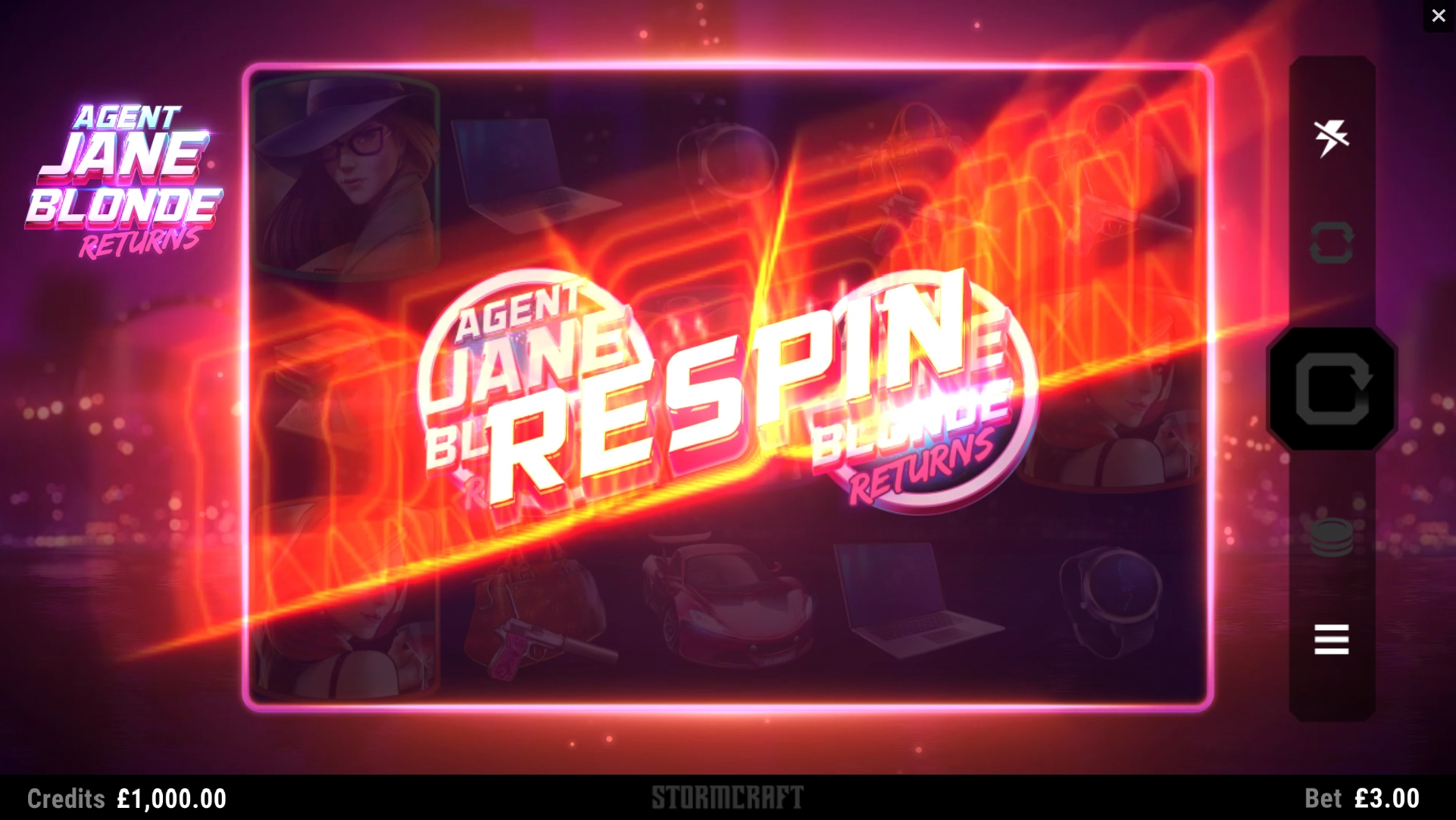 Agent Jane Blonde Returns Logo