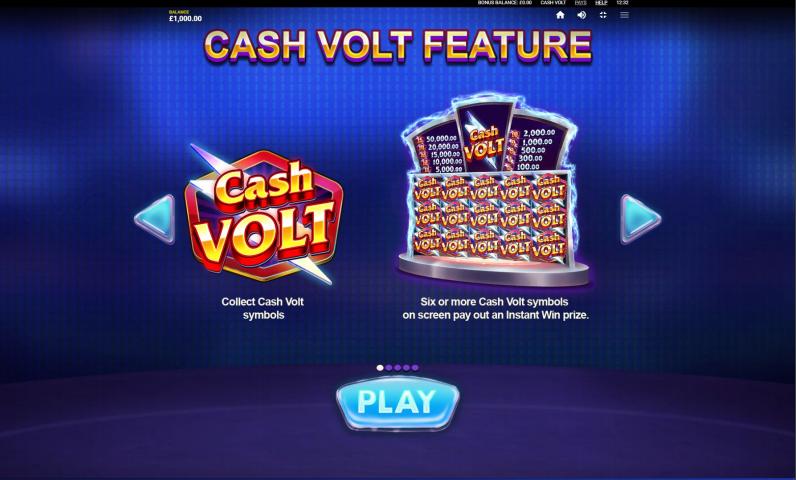 Cash Volt Features