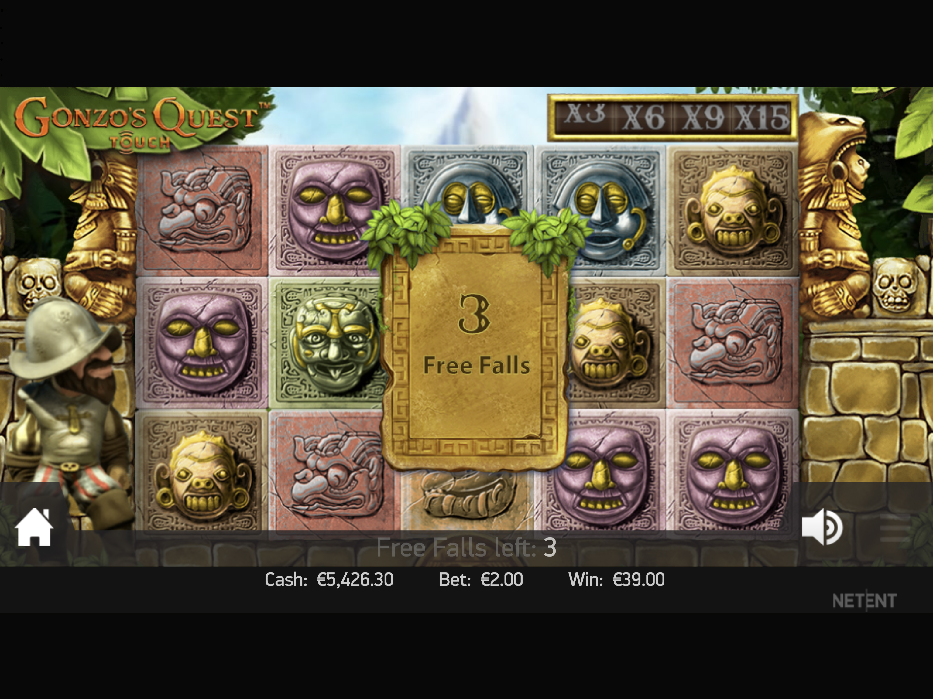 Gonzo's Quest Free Falls