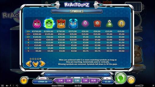 Reactoonz slots game jammin jars slot game